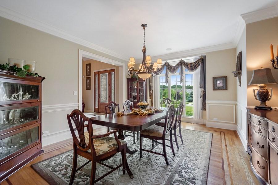 Real Estate Photography - 20948 W. High Ridge Drive, Kildeer, IL, 60047 - Dining Room