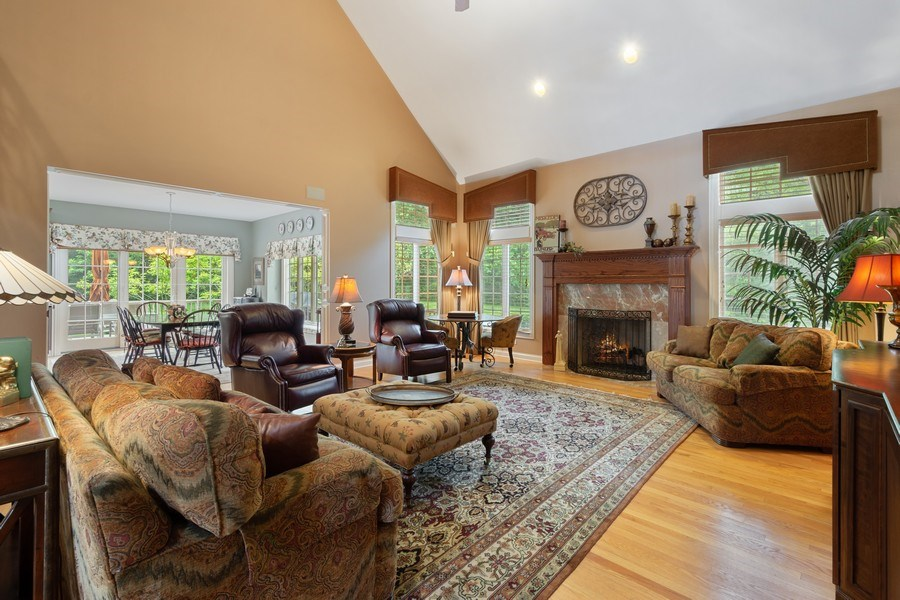 Real Estate Photography - 20948 W. High Ridge Drive, Kildeer, IL, 60047 - Great Room