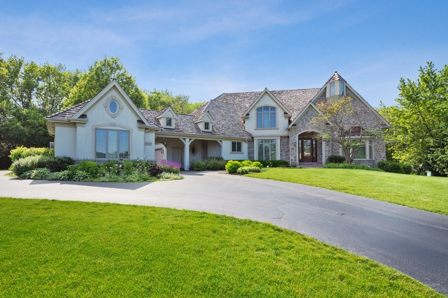Real Estate Photography - 20948 W. High Ridge Drive, Kildeer, IL, 60047 - Front View