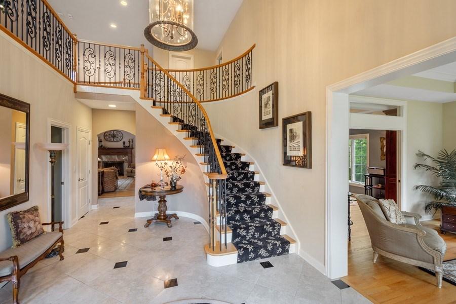 Real Estate Photography - 20948 W. High Ridge Drive, Kildeer, IL, 60047 - Foyer