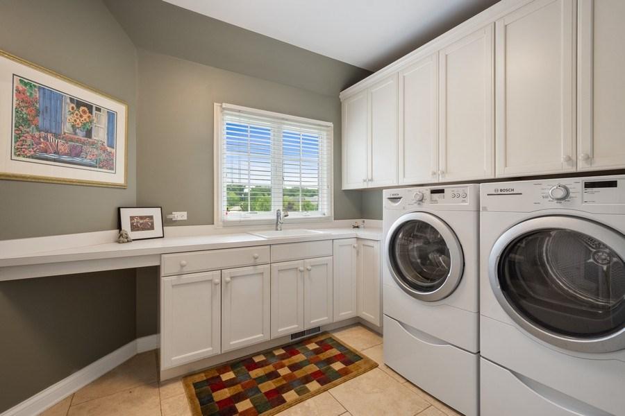 Real Estate Photography - 20948 W. High Ridge Drive, Kildeer, IL, 60047 - Laundry Room