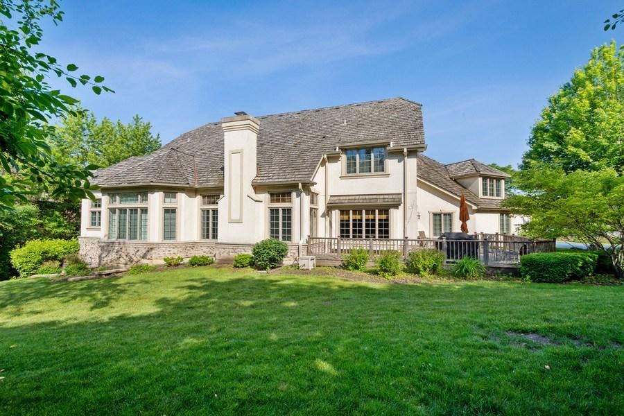 Real Estate Photography - 20948 W. High Ridge Drive, Kildeer, IL, 60047 - Rear View