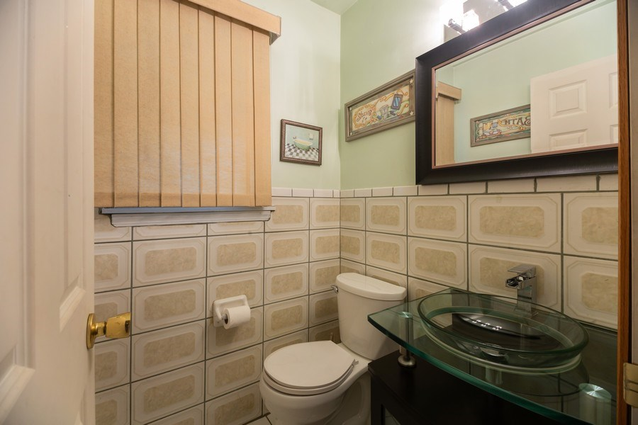 Real Estate Photography - 1118 S. Cherrywood Drive, Mount Prospect, IL, 60056 - Half Bath