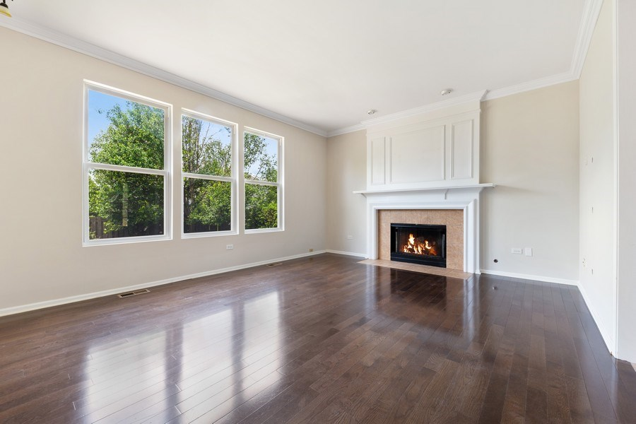 Real Estate Photography - 2 Honeysuckle Court, Bolingbrook, IL, 60490 - Family Room