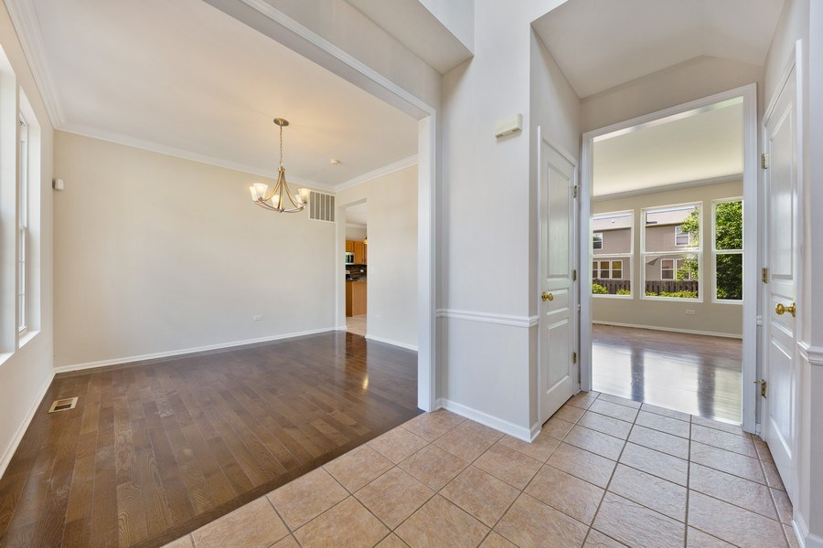 Real Estate Photography - 2 Honeysuckle Court, Bolingbrook, IL, 60490 - Foyer