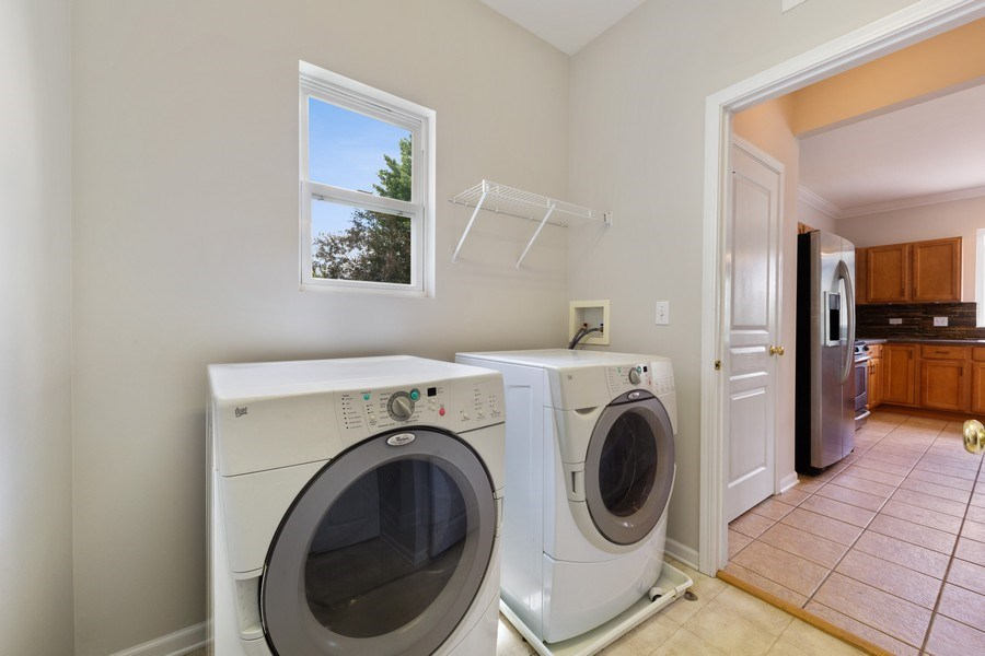 Real Estate Photography - 2 Honeysuckle Court, Bolingbrook, IL, 60490 - Laundry Room