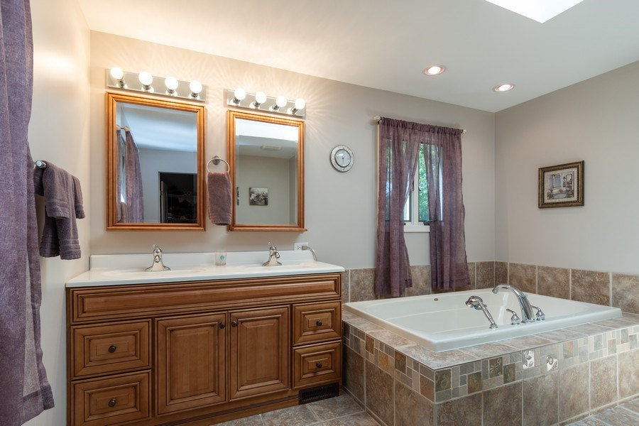 Real Estate Photography - 79 Highview Drive, Yorkville, IL, 60560 - Master Bathroom