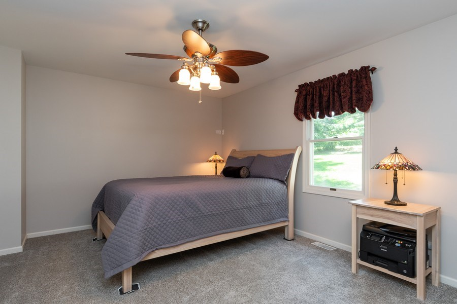 Real Estate Photography - 79 Highview Drive, Yorkville, IL, 60560 - 1st Fl Master Bedroom