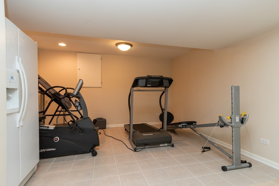 Real Estate Photography - 79 Highview Drive, Yorkville, IL, 60560 - Gym