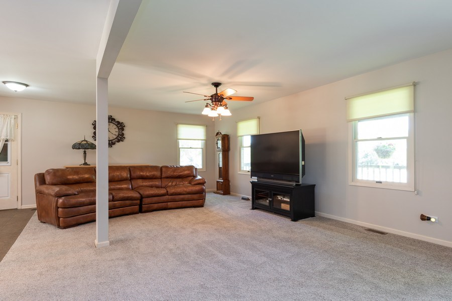 Real Estate Photography - 79 Highview Drive, Yorkville, IL, 60560 - Family Room