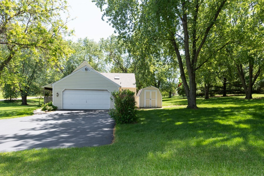 Real Estate Photography - 79 Highview Drive, Yorkville, IL, 60560 - Side View