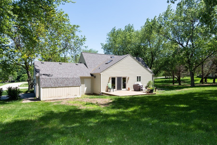 Real Estate Photography - 79 Highview Drive, Yorkville, IL, 60560 - Rear View