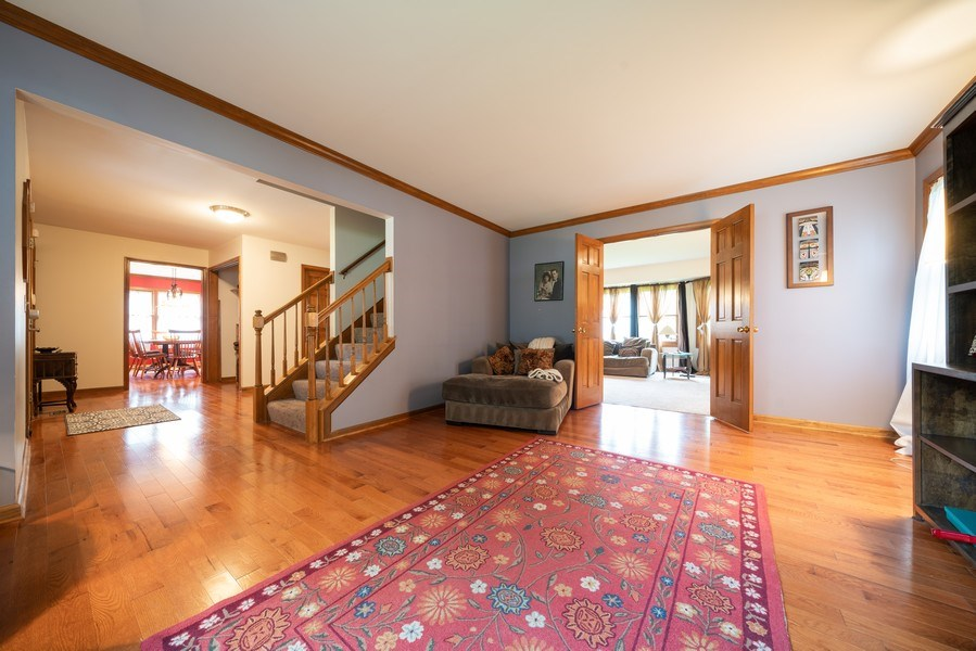 Real Estate Photography - 1167 Book Road, Naperville, IL, 60540 - Living Room