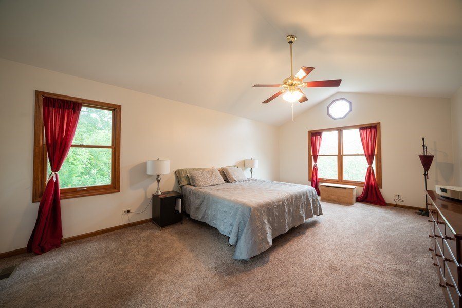 Real Estate Photography - 1167 Book Road, Naperville, IL, 60540 - Master Bedroom