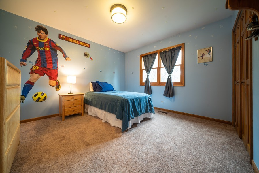 Real Estate Photography - 1167 Book Road, Naperville, IL, 60540 - 2nd Bedroom