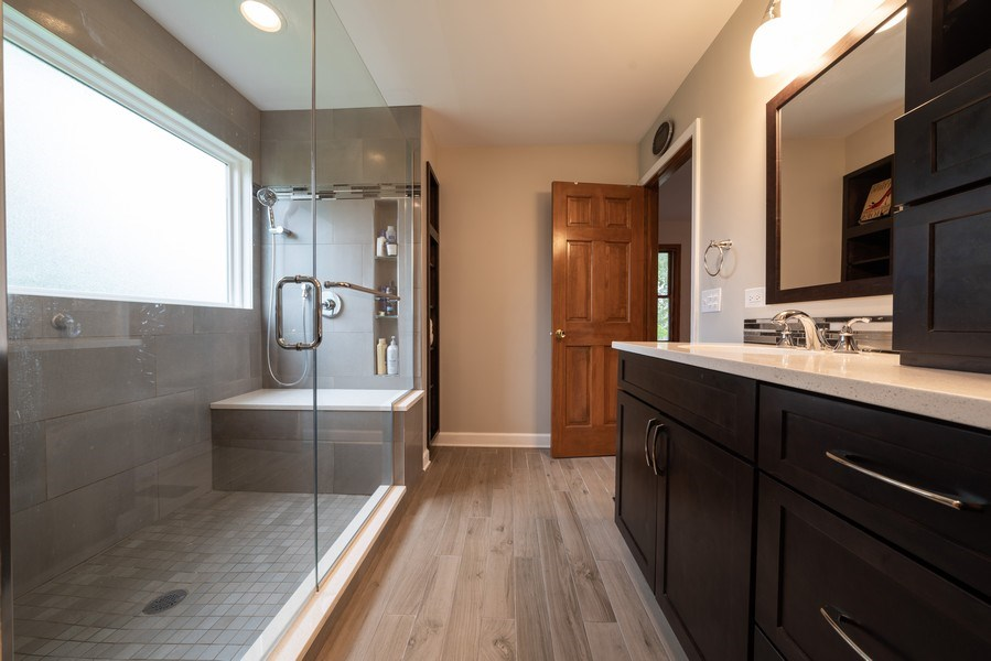 Real Estate Photography - 1167 Book Road, Naperville, IL, 60540 - Master Bathroom