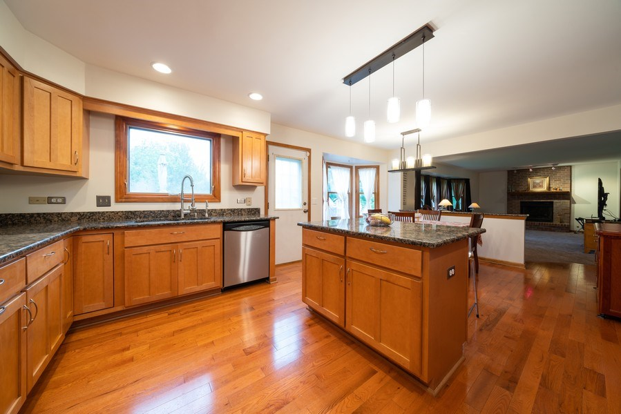 Real Estate Photography - 1167 Book Road, Naperville, IL, 60540 - Kitchen