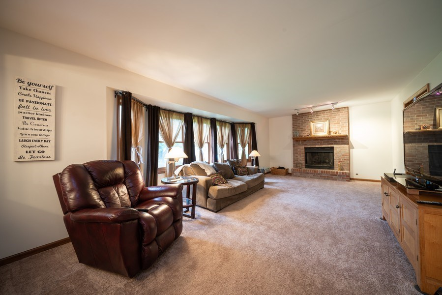 Real Estate Photography - 1167 Book Road, Naperville, IL, 60540 - Family Room