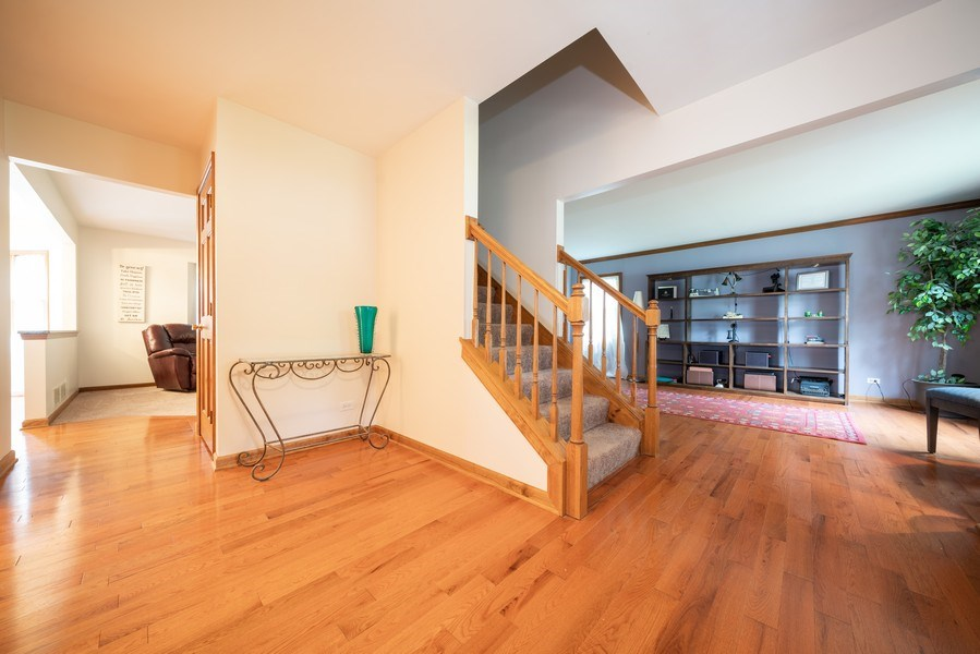 Real Estate Photography - 1167 Book Road, Naperville, IL, 60540 - Foyer