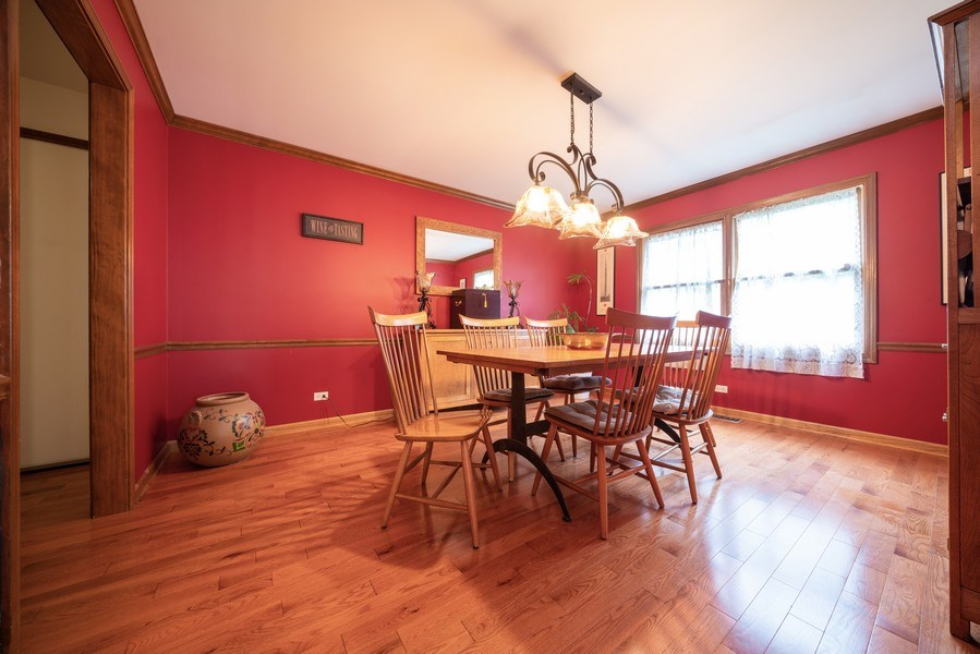 Real Estate Photography - 1167 Book Road, Naperville, IL, 60540 - Dining Room