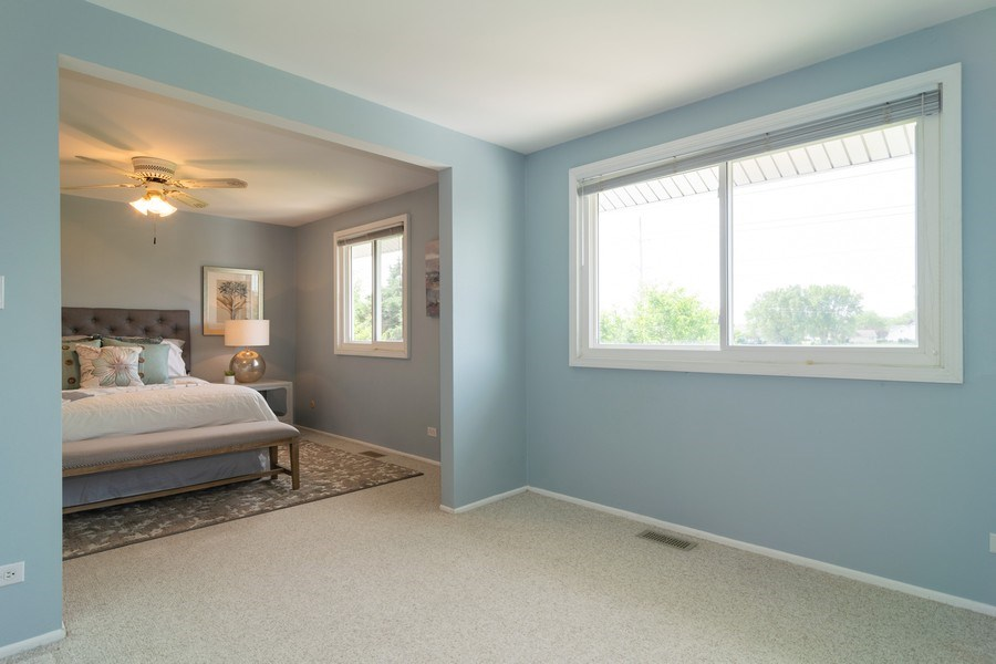 Real Estate Photography - 1125 Sausalito Court, Bartlett, IL, 60103 - Master Bedroom