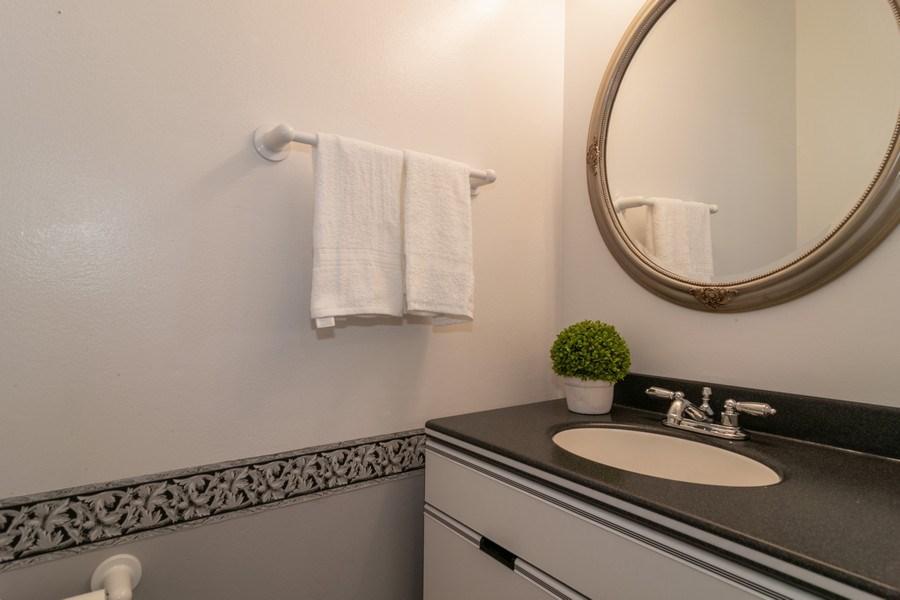 Real Estate Photography - 1125 Sausalito Court, Bartlett, IL, 60103 - Half Bath