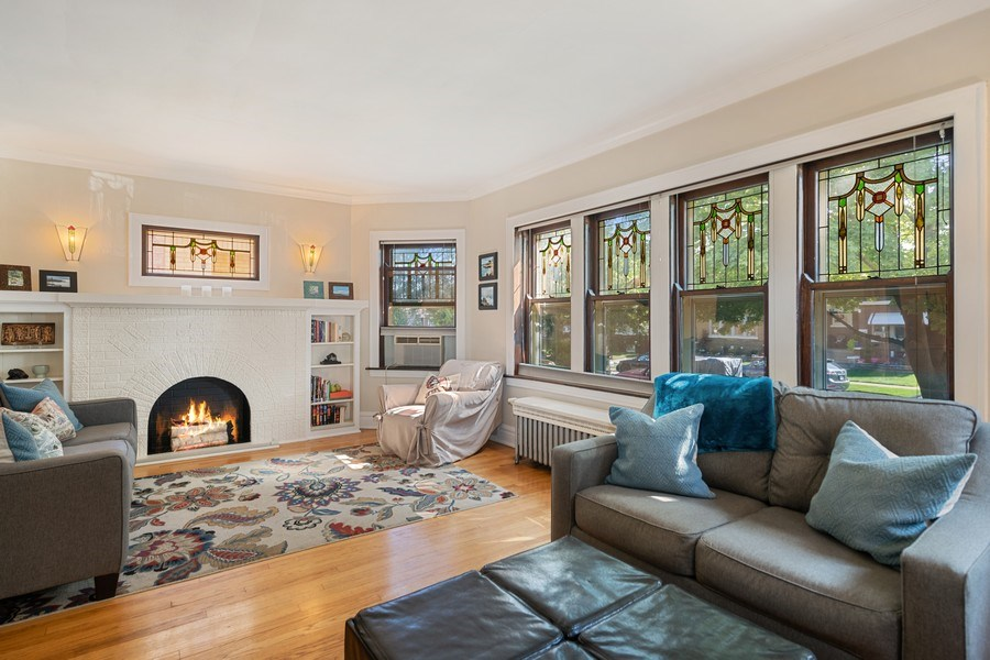 Real Estate Photography - 1636 Wisconsin Ave, Berwyn, IL, 60402 - Living Room