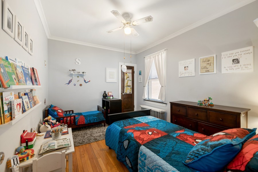 Real Estate Photography - 1636 Wisconsin Ave, Berwyn, IL, 60402 - 3rd Bedroom