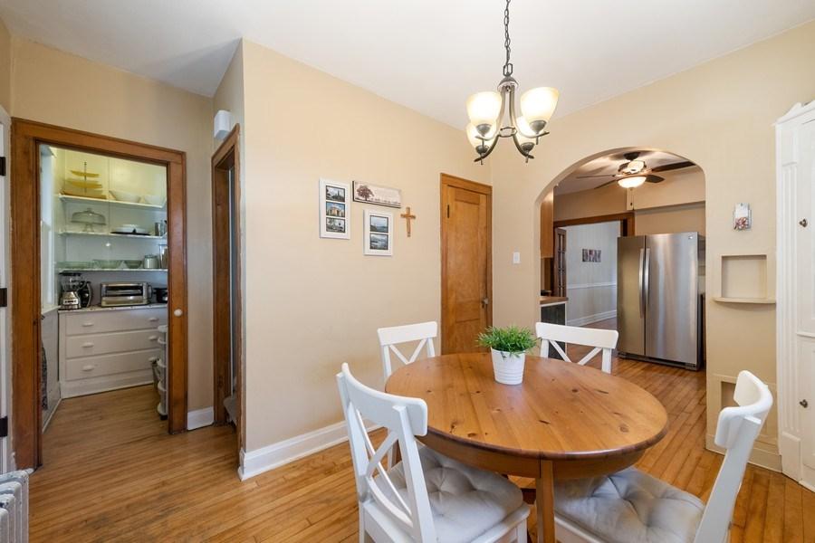 Real Estate Photography - 1636 Wisconsin Ave, Berwyn, IL, 60402 - Kitchen / Breakfast Room