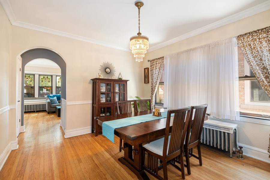 Real Estate Photography - 1636 Wisconsin Ave, Berwyn, IL, 60402 - Dining Room