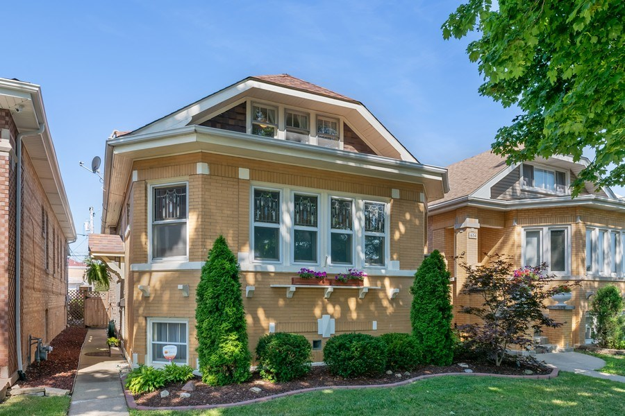 Real Estate Photography - 1636 Wisconsin Ave, Berwyn, IL, 60402 - Front View