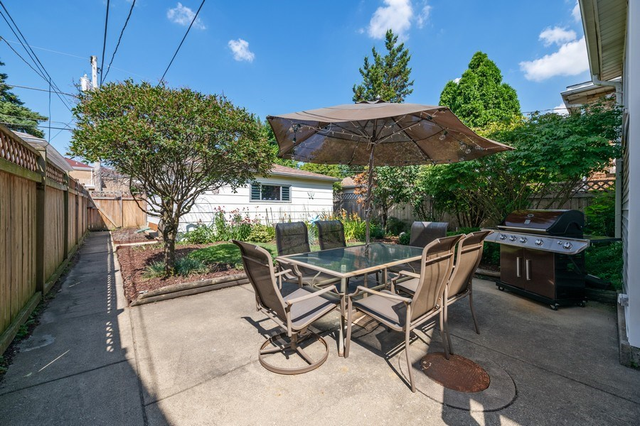 Real Estate Photography - 1636 Wisconsin Ave, Berwyn, IL, 60402 - Patio