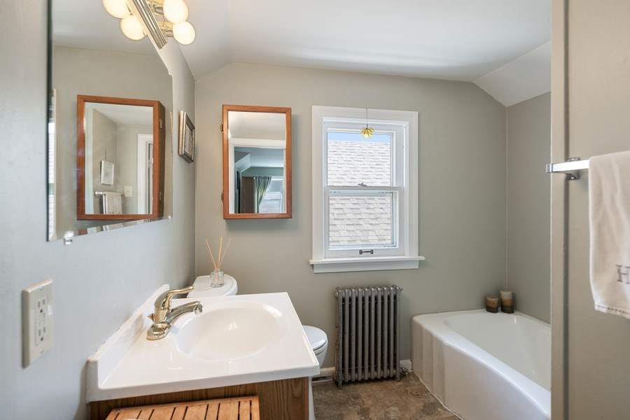 Real Estate Photography - 1636 Wisconsin Ave, Berwyn, IL, 60402 - 2nd Bathroom