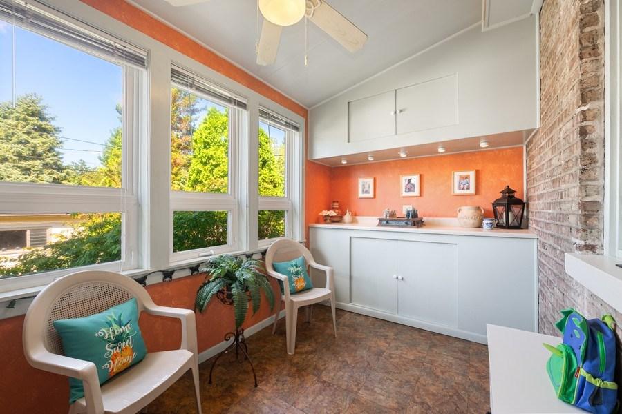 Real Estate Photography - 1636 Wisconsin Ave, Berwyn, IL, 60402 - Sun Room