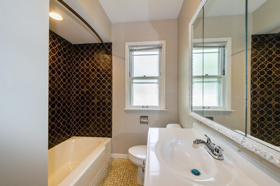 Real Estate Photography - 4315 Wenonah Avenue, Stickney, IL, 60402 - 2nd Bathroom