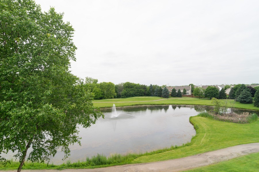 Real Estate Photography - 598 Golfers Lane, Bartlett, IL, 60103 - View from rear facing windows/decks/patio