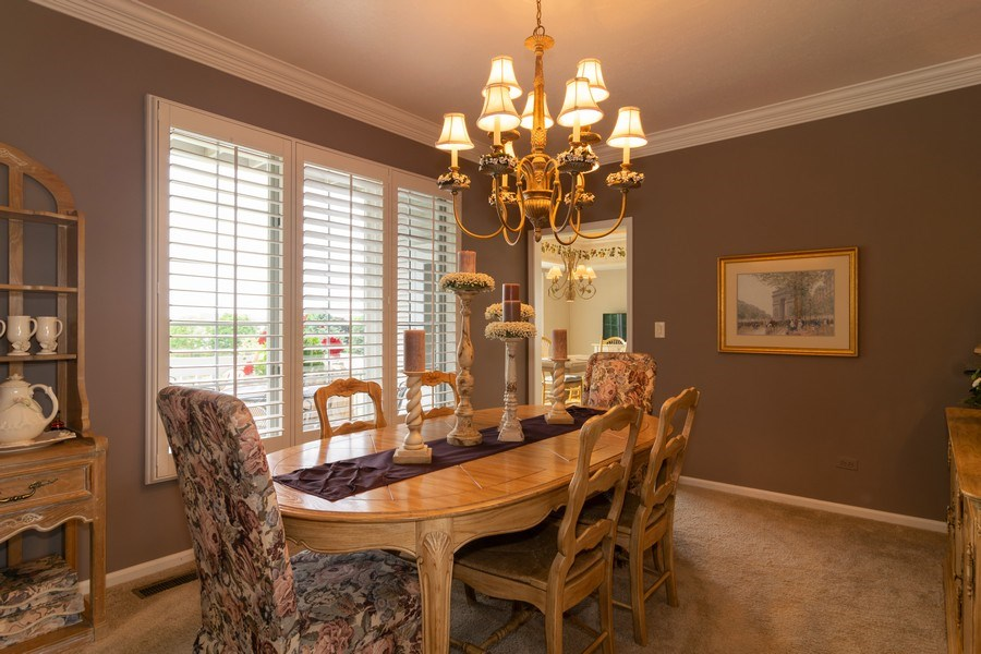 Real Estate Photography - 598 Golfers Lane, Bartlett, IL, 60103 - Dining Room