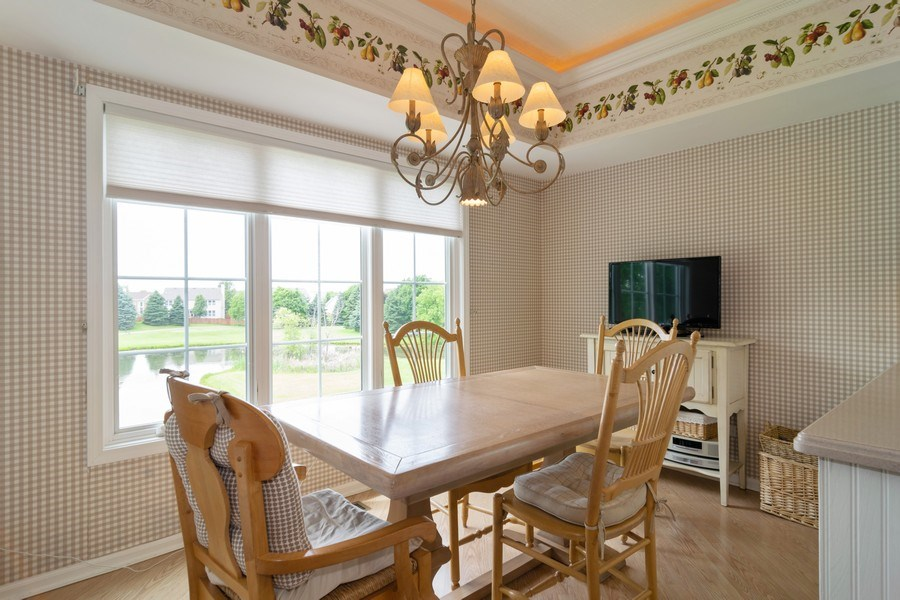 Real Estate Photography - 598 Golfers Lane, Bartlett, IL, 60103 - Informal dining area