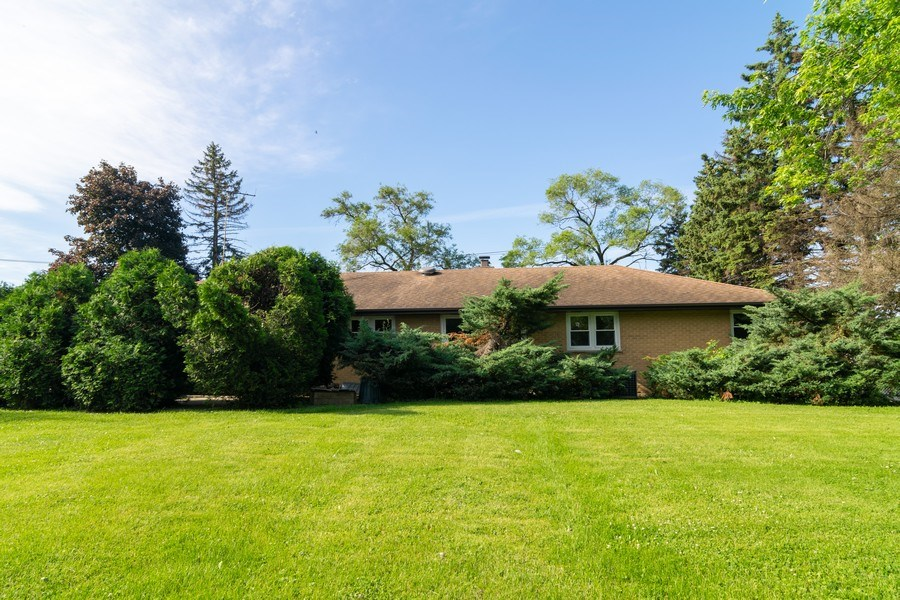 Real Estate Photography - 21W516 Army Trail Rd, Addison, IL, 60101 - Rear View