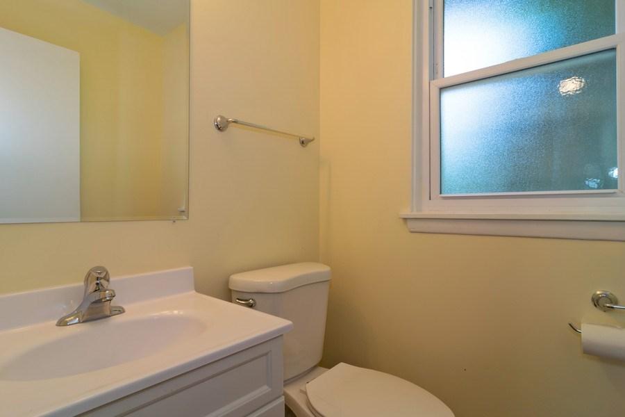 Real Estate Photography - 21W516 Army Trail Rd, Addison, IL, 60101 - Half Bath