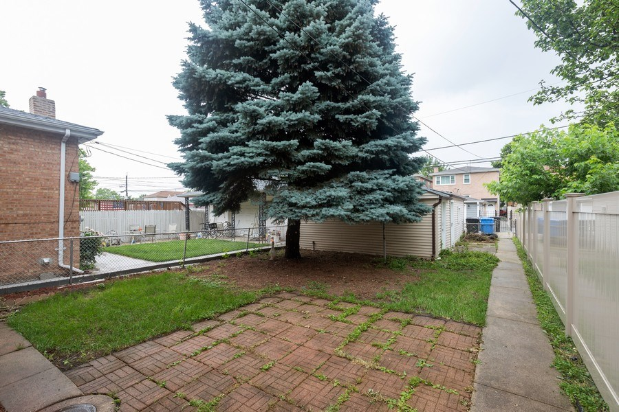 Real Estate Photography - 6107 S. Mayfield Avenue, Chicago, IL, 60638 - Back Yard