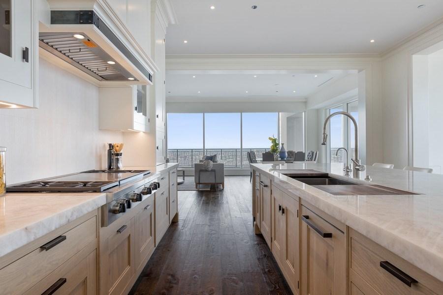 Real Estate Photography - 9 W. Walton Street, Unit 2902, Chicago, IL, 60610 - Kitchen