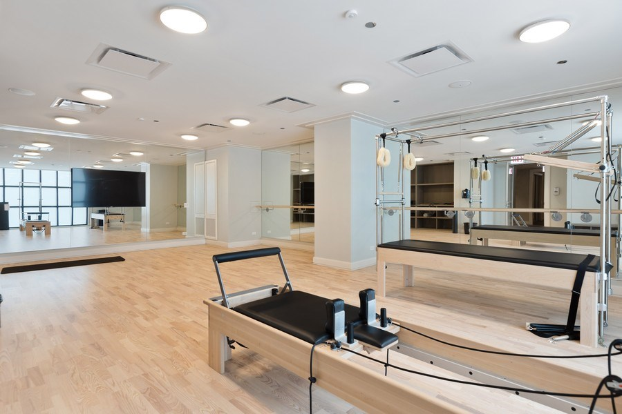 Real Estate Photography - 9 W. Walton Street, Unit 2902, Chicago, IL, 60610 - Amenities - Pilates Studio