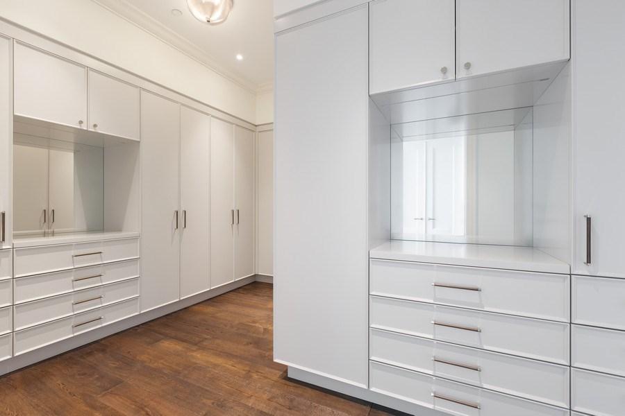 Real Estate Photography - 9 W. Walton Street, Unit 2902, Chicago, IL, 60610 - Master Bedroom Closet