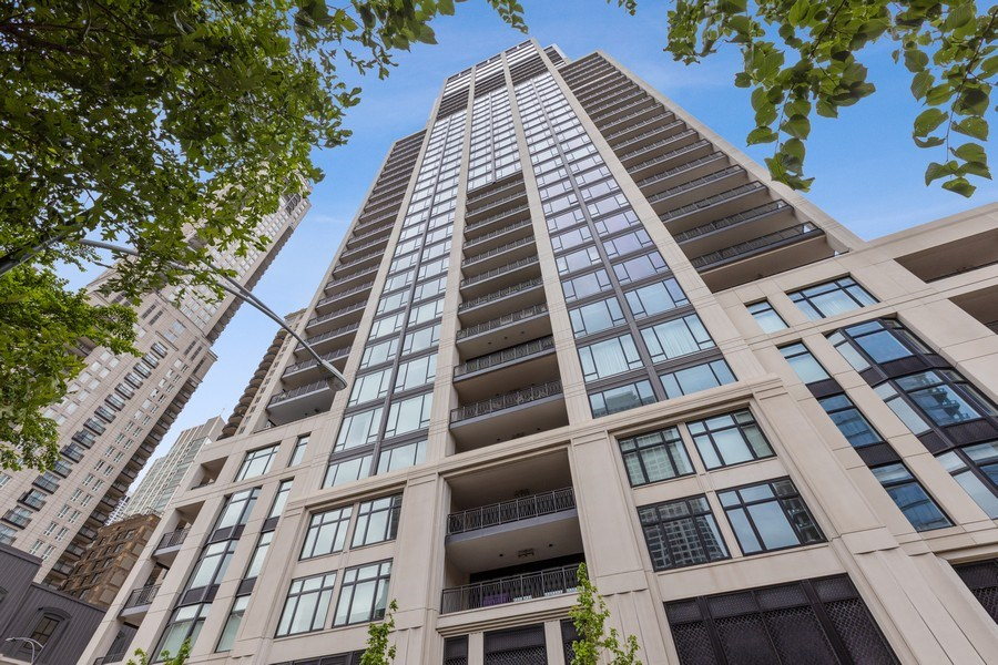 Real Estate Photography - 9 W. Walton Street, Unit 2902, Chicago, IL, 60610 - Front View