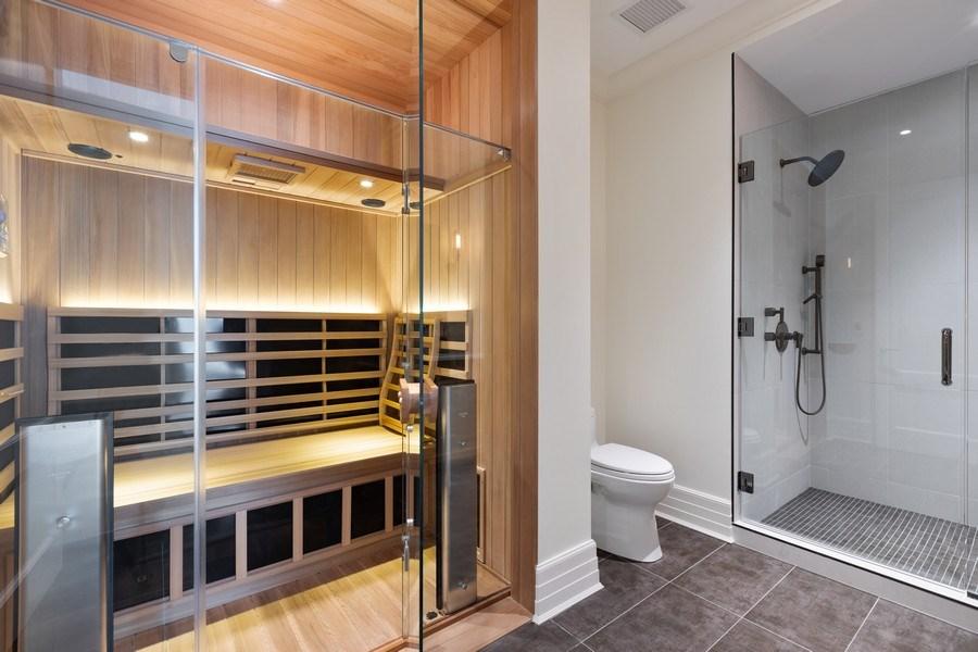 Real Estate Photography - 9 W. Walton Street, Unit 2902, Chicago, IL, 60610 - Bathroom/ Sauna