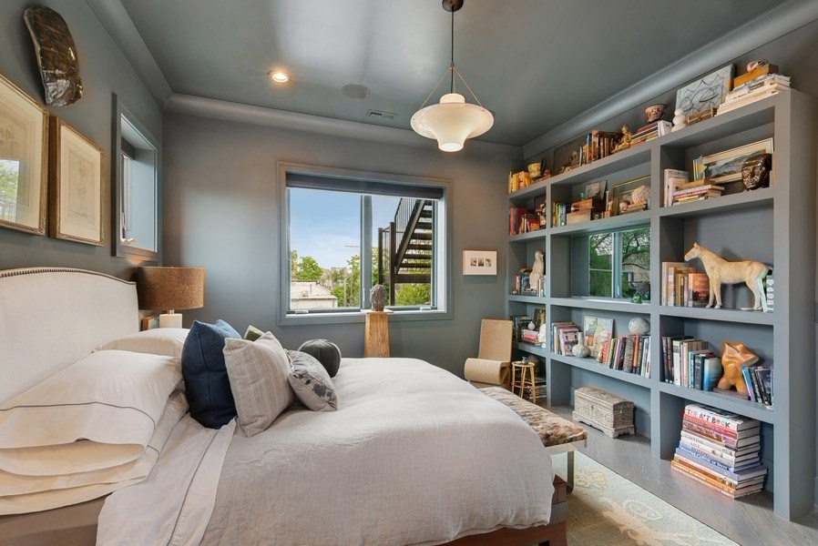 Real Estate Photography - 2744 N. Mildred Avenue, Unit 3, Chicago, IL, 60614 - Master Bedroom