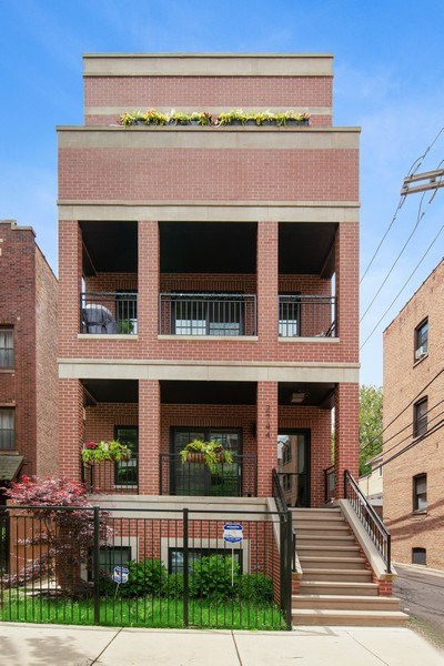 Real Estate Photography - 2744 N. Mildred Avenue, Unit 3, Chicago, IL, 60614 - Front View