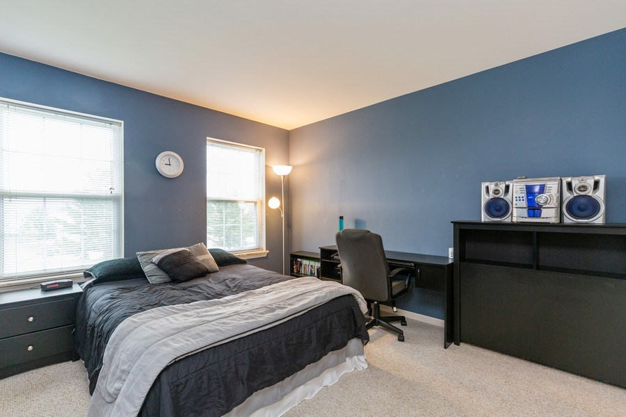 Real Estate Photography - 3172 Humbolt Avenue, Elgin, IL, 60124 - 3rd Bedroom