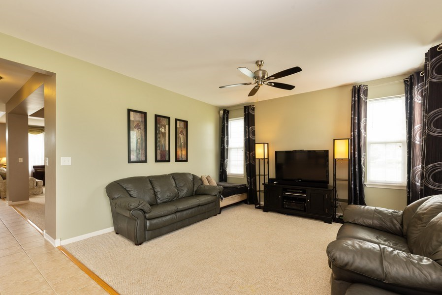Real Estate Photography - 3172 Humbolt Avenue, Elgin, IL, 60124 - Family Room